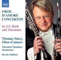 Telemann & Bach - Concertos for Oboe d'amore