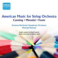 American Music for String Orchestra