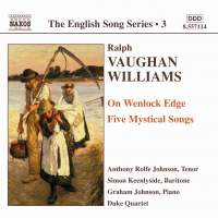 The English Song Series Volume 3 - Vaughan Williams 1