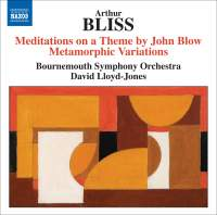 Bliss - Meditations on a Theme by John Blow