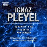 Pleyel: Symphonies & Flute Concerto
