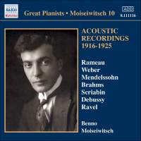 Great Pianists - Moiseiwitsch 10