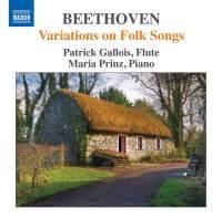 Beethoven: Variations on Folk Songs