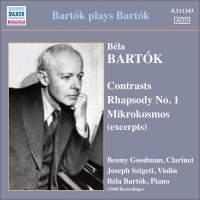 Bartók plays Bartók