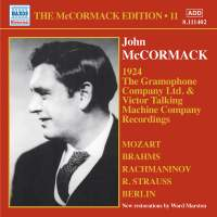 The McCormack, Edition, Vol. 11