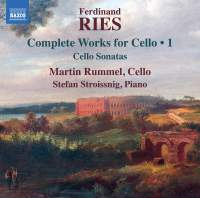 Ries: Complete Works for Cello Vol.1