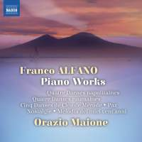 Franco Alfano: Piano Works