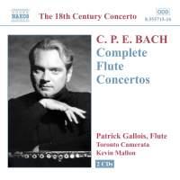 C P E Bach - Complete Flute Concertos