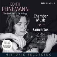 Edith Peinemann: The SWR Studio Recordings 1952-1965