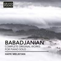 Arno Babadjanian: Complete original works for piano solo