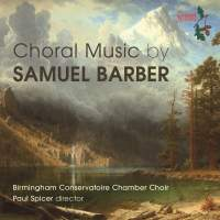 Choral Music By Samuel Barber