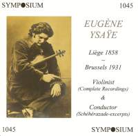 Eugen Ysaye (1912-1919)