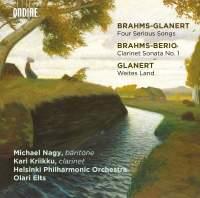 Brahms-Glanert: Four Serious Songs