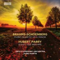 Brahms: Piano Quartet in G Minor (orch. Schoenberg)