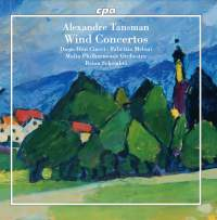 Alexandre Tansman: Wind Concertos