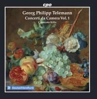 Telemann: Concerti Da Camera, Vol. 1