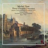 Michèl Yost: Three Clarinet Concertos