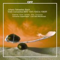 JS Bach: Violin Concertos, BWV 1041-1043 & Oboe Concerto, BWV 1060R