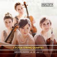 Mendelssohn: String Quartets ,Op. 44, Nos. 1& 2