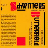Butterfield: Music for Klein and Beuys - Pillar of Snails - Schwitters: Ursonate