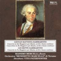 G.B. Sammartini & G. Sammartini: Flute Concertos