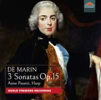 De Marin: 3 Sonatas, Op. 15