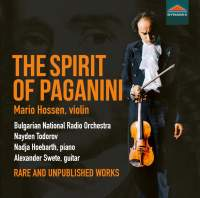 The Spirit of Paganini: rare and unpublished works