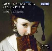 G B Sammartini: Sonate per clavicembalo