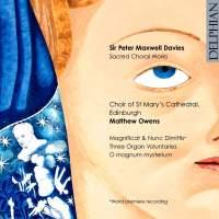 Maxwell Davies: Magnificat & Nunc Dimittis