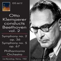 Otto Klemperer conducts Beethoven Volume 2