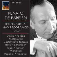 Renato De Barbieri: The Historical HMV Recordings 1956