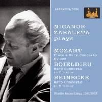 Mozart, Boieldieu & Reinecke: Works for Harp & Orchestra