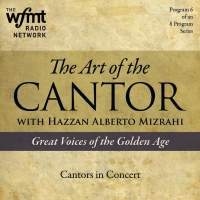 TAC Show 6: Cantors in Concert (1920-1960)