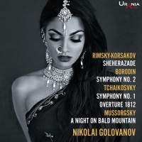 Borodin, Rimsky-Korsakov, Tchaikovsky & Mussorgsky: Orchestral Works