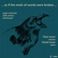... as if the mesh of words were broken ...