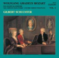 Mozart: The Complete Piano Works, Vol. 4