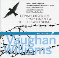 Vaughan Williams: Dona nobis pacem, Symphony No. 4 & The Lark Ascending