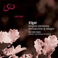 Elgar: Enigma Variations, Op. 36, etc.
