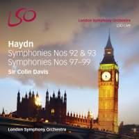 Haydn: Symphonies Nos. 92, 93, 97, 98 & 99