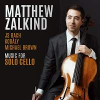 JS Bach&#x3B; Kodály&#x3B; Michael Brown: Music for Solo Cello
