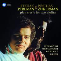 Itzhak Perlman & Pinchas Zukerman play music for two violins