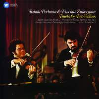 Duets for Two Violins: Perlman and Zukerman