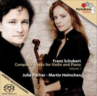 Schubert - Complete Works for Violin and Piano, Volume 1