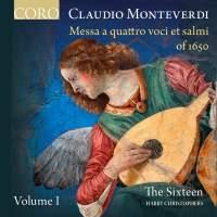 Monteverdi: Messa a Quattro voci et salmi of 1650 Volume I