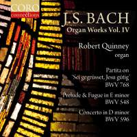 JS Bach: Organ Works Volume IV