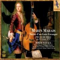 Marais, M: Suite in a Foreign Style (Suitte d'un Goût Etranger)