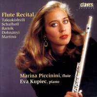 Maria Piccinini: Flute Recital