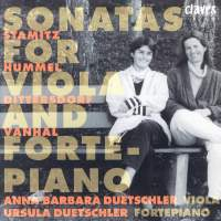 Hummel, Stamitz, Vanhal & Dittersdorf: Sonatas for Violo and Fortepiano