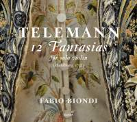 Telemann: Fantasias (12) for solo violin, TWV 40:14-25