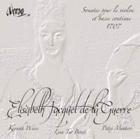Jacquet de la Guerre: Sonates (6) pour le violon et basse continue